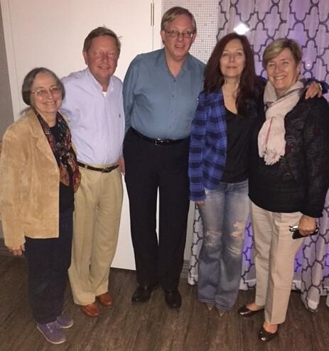 Jeanne Stevens-Sollman, Tom Uram, Wayne Homren, Heidi Wastweet, Mary Lannin