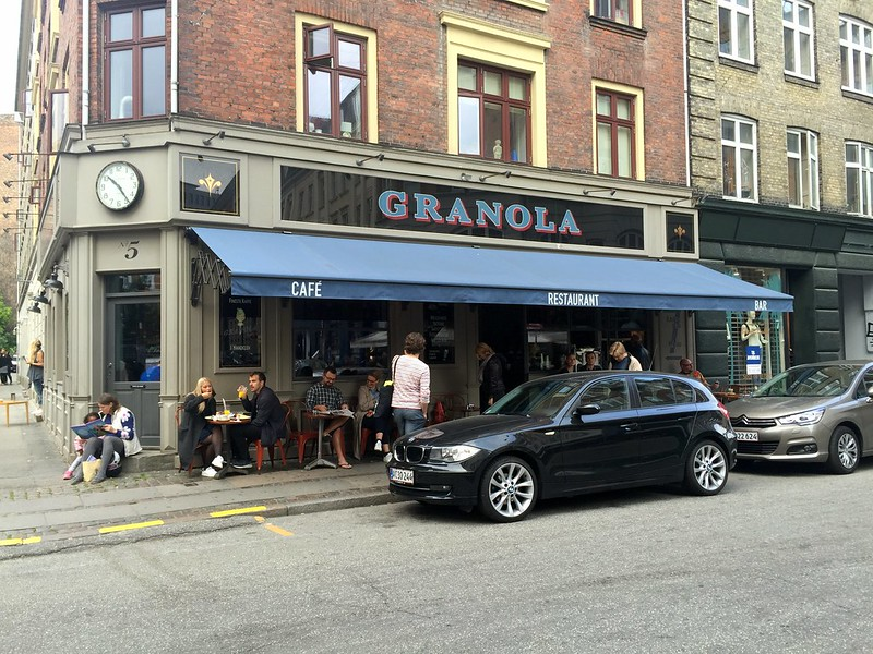 Granola is a lovely, if pricey, café in Vesterbro