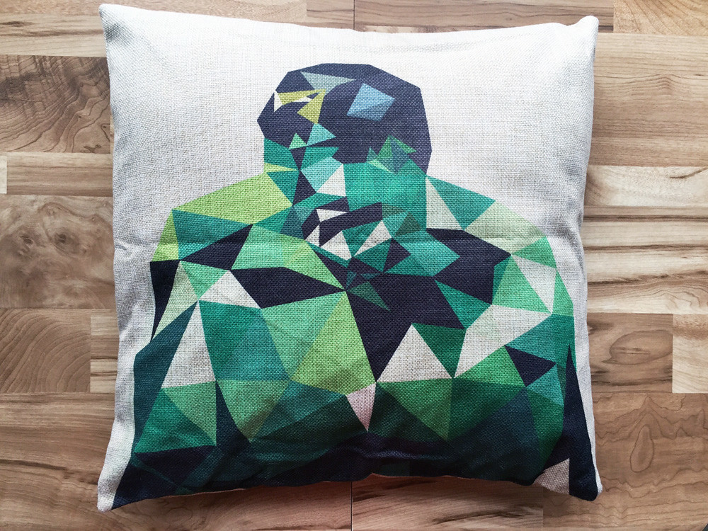 Hulk sofa pillow cover