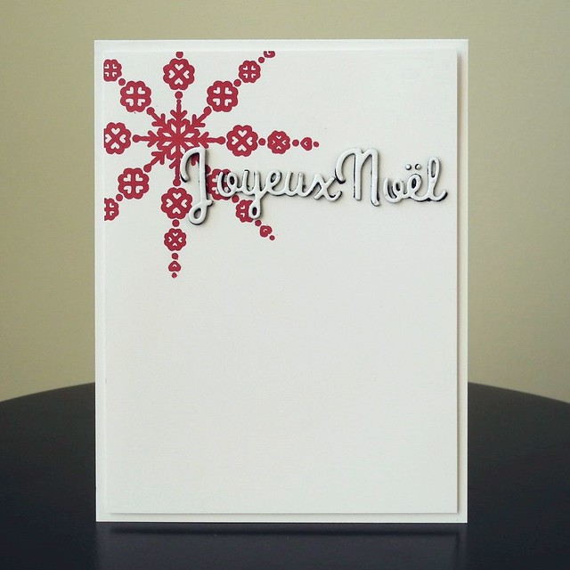 Joyeux Noël by Jennifer Ingle #CASualFridaysStamps #JustJingle #Cards #Christmas