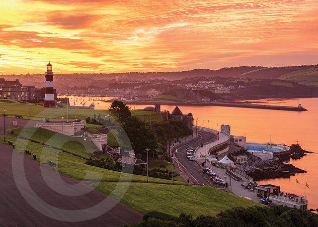 August, Plymouth Hoe Sunrise, Richie