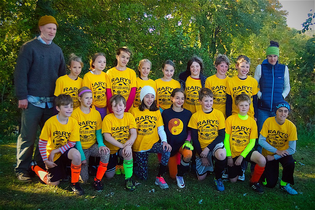 day 4109 - 274/365. 2015 driftless united futbol u12 team photo.