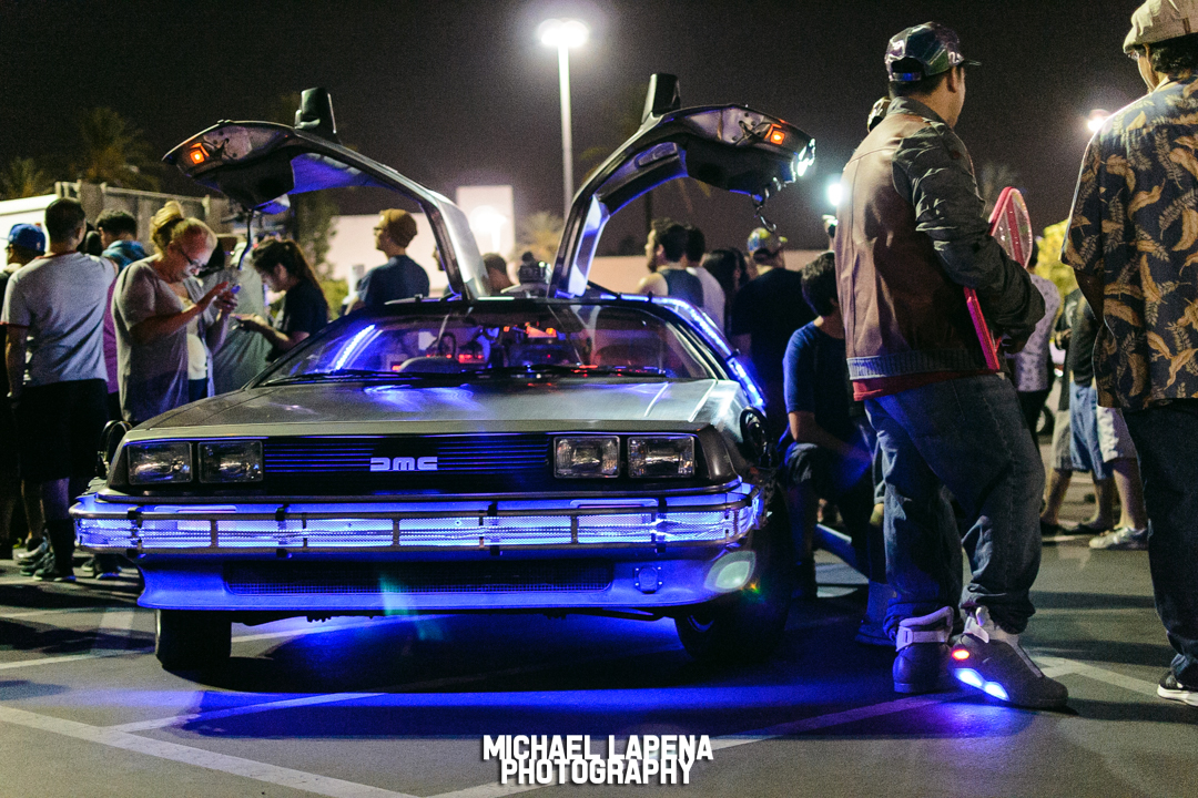 Back to the Future 30th Anniversary Celebration at Puente Hills Mall