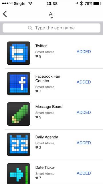 LaMetric iOS App - Store