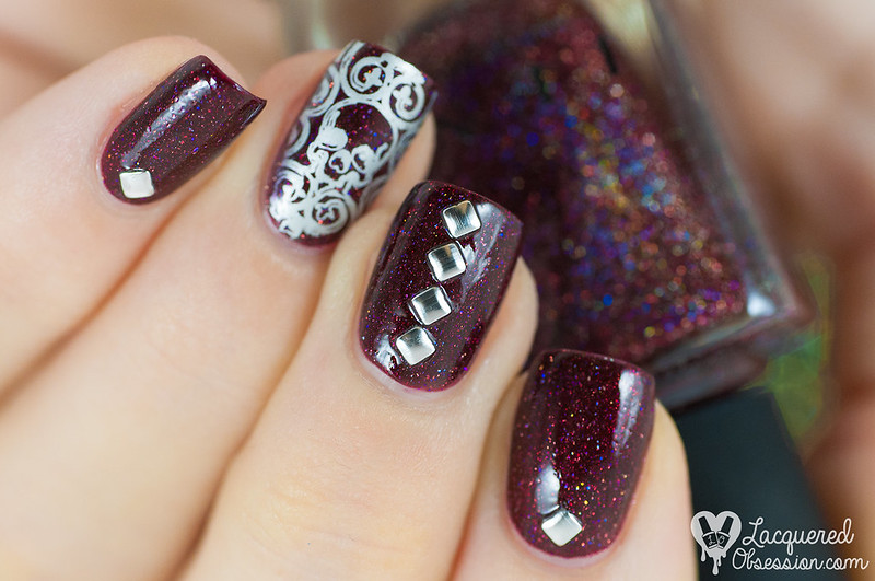 Diablo nail art