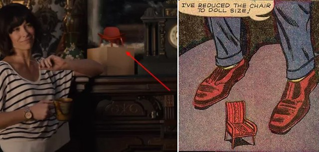 This red chair is a tiny easter egg in the Ant-Man movie!