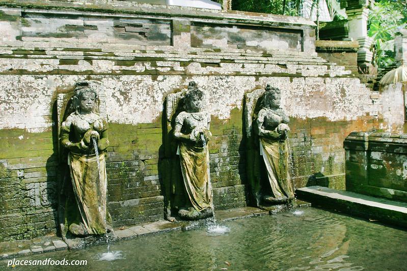 goa gajah three dewas pouring water