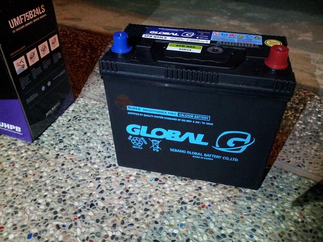 FD2 換第二顆電池【EFB 制御】