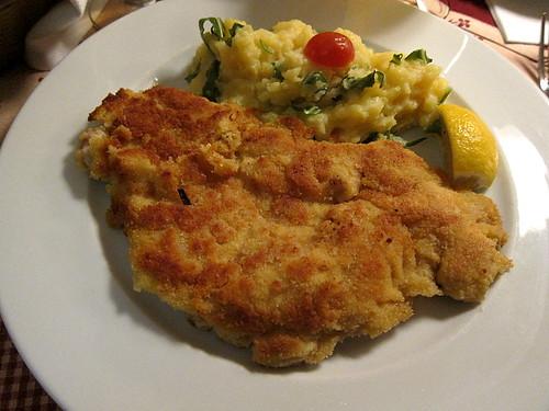 A Munich Style Schnitzel