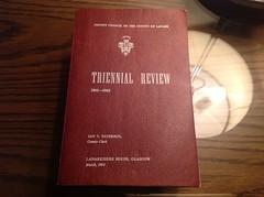 Trienial Review Blantyre 1962