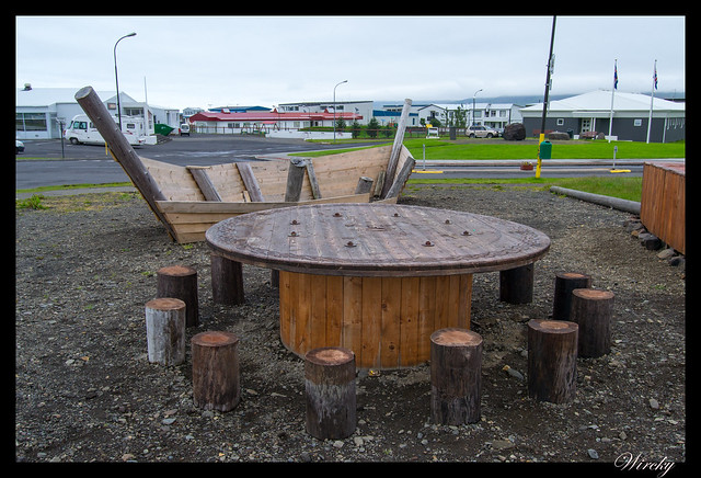 Recreación asentamiento vikingo