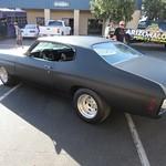 matte black chevelle