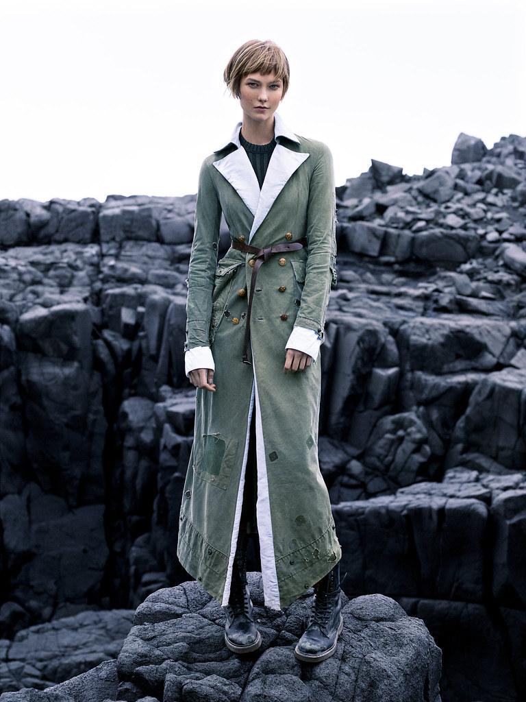 Карли Клосс — Фотосессия для «Vogue» 2015 – 4