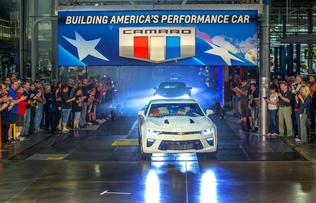 Topic Chevrolet Readies Shipment Of 2016 Camaro Car
