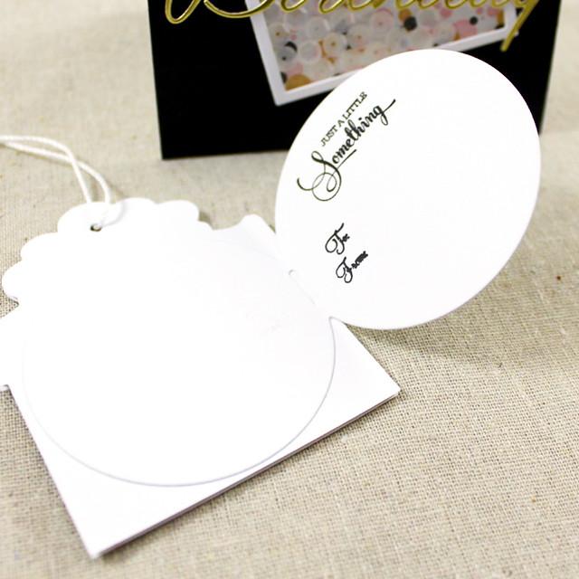 Confetti Present Tag Interior