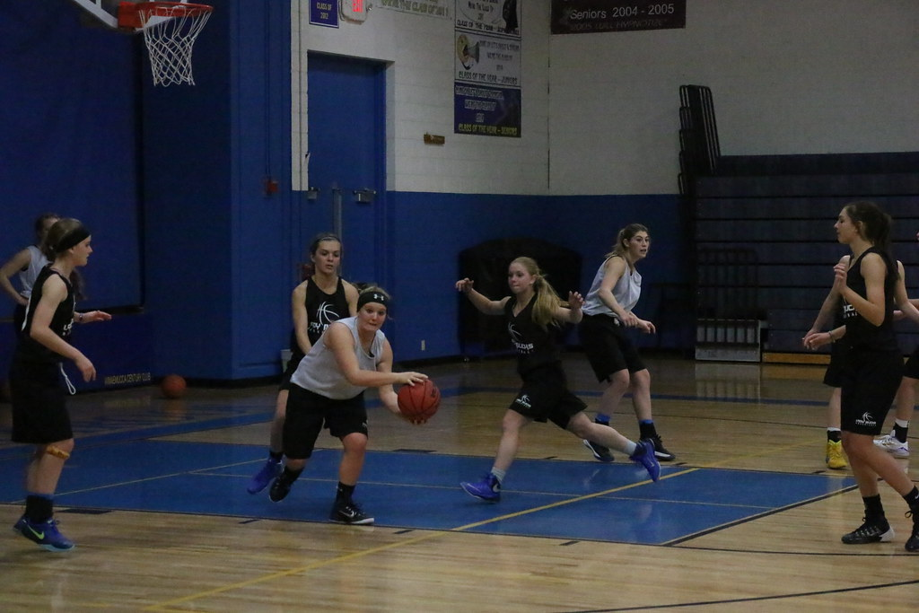 11-20-15 Varsity Girls Basketball Practice By Chanse McAllister