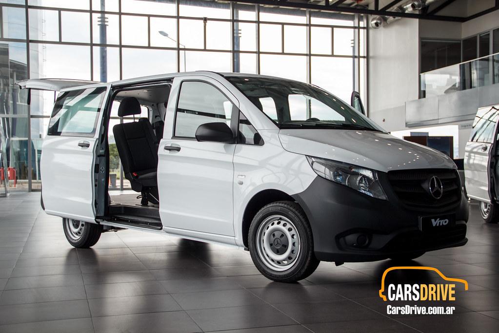 CarsDrive Córdoba Prueba de manejo: Mercedes-Benz Vito ...