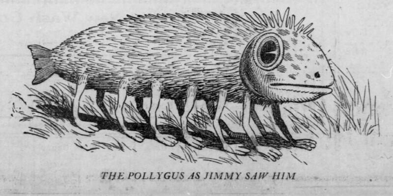 Walt McDougall - The Salt Lake herald., February 26, 1905, The Pollyguy As Jimmy Saw Him