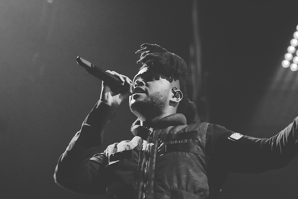 The Weeknd @ Barclays Center, NYC 18/11/15