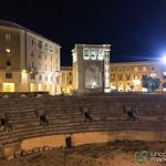 Roman Amphitheatre in Lecce - Puglia, Italy