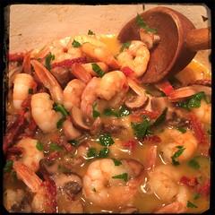 #Homemade #Shrimp, Mushroom & Sundried Tomato Sauce #CucinaDelloZio