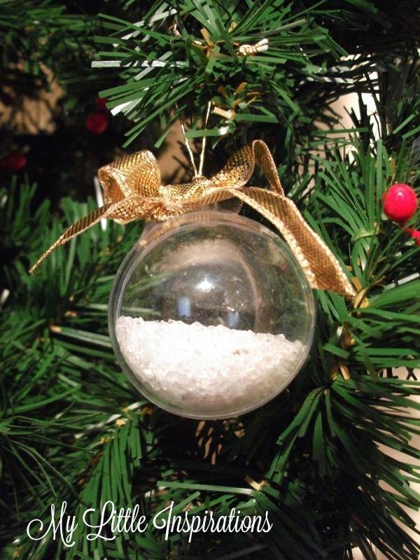 Clear Glass Ornaments MLI 5
