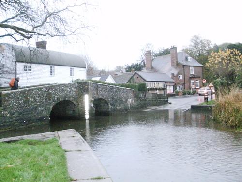 Eynsford bridge