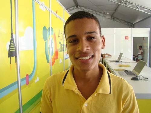 Alunos em Simões Filho (BA): Gabriel