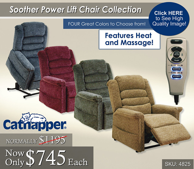 Soother Power Lift Chair Collection