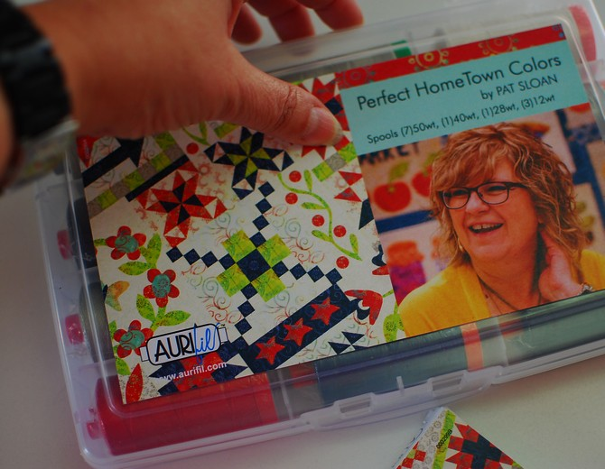 pat sloan hometown girl aurifil kits 2