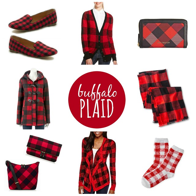 on trend buffalo plaid