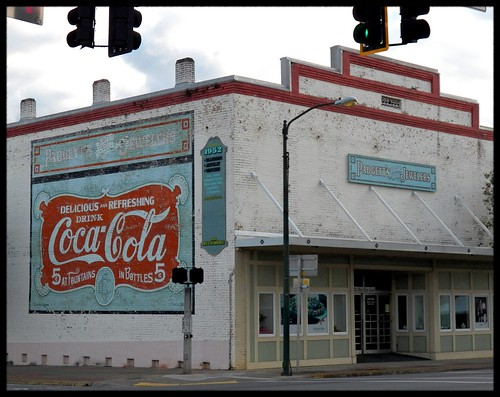 county street old usa building sign america corner vintage quincy town cola florida united small coke signage americana fl states coca gadsden jewelers padgetts