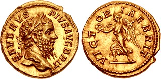 Lot 595–Septimius Severus