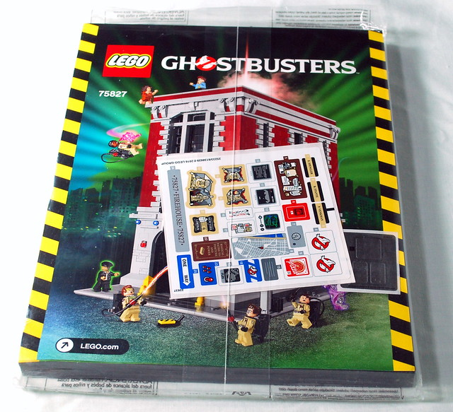 Review 75827 Ghostbusters Firehouse Headquarters Lego Licensed