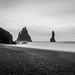 Pikes of Vik, Reynisdrangar Iceland by Simon van Ooijen