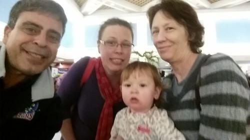 christmas family friends holidays selfie