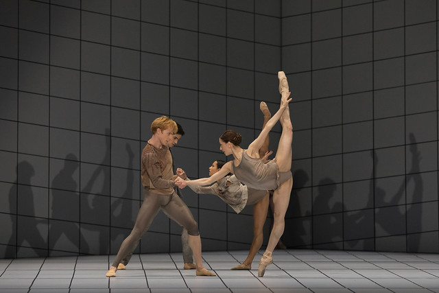 Steven McRae, Marianela Nuñez, Federico Bonelli, Francesca Hayward in Multiverse, The Royal Ballet © 2016 ROH. Photograph by Andrej Uspenski