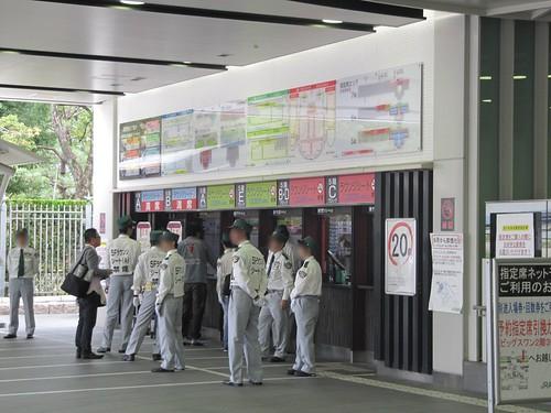 京都競馬場ステーションゲート1階指定席売り場