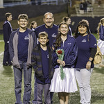 Seniors (Band) @ CHS Varsity Football vs OWHS 10-21-2016 (Senior Night) (EAW)