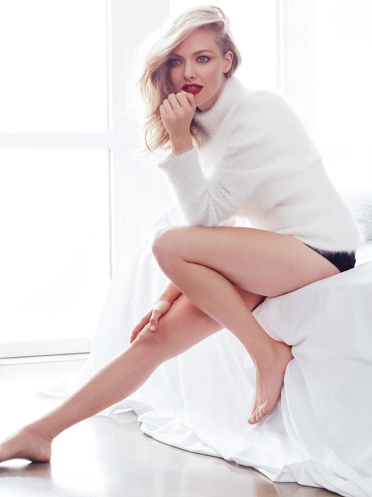 Аманда Сейфрид — Фотосессия для «Vogue» RU 2016 – 6