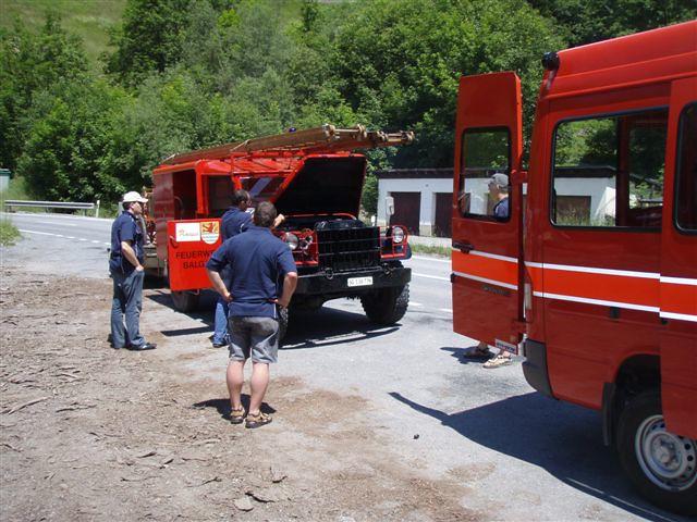 2008 Feuerwehr Klosters