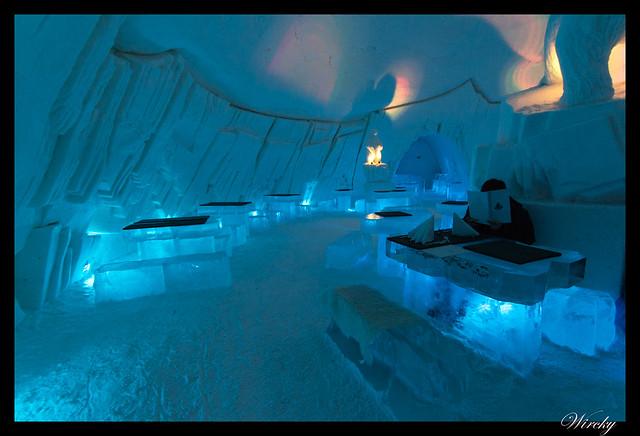 Excursiones Laponia finlandesa invierno - Restaurante de hielo