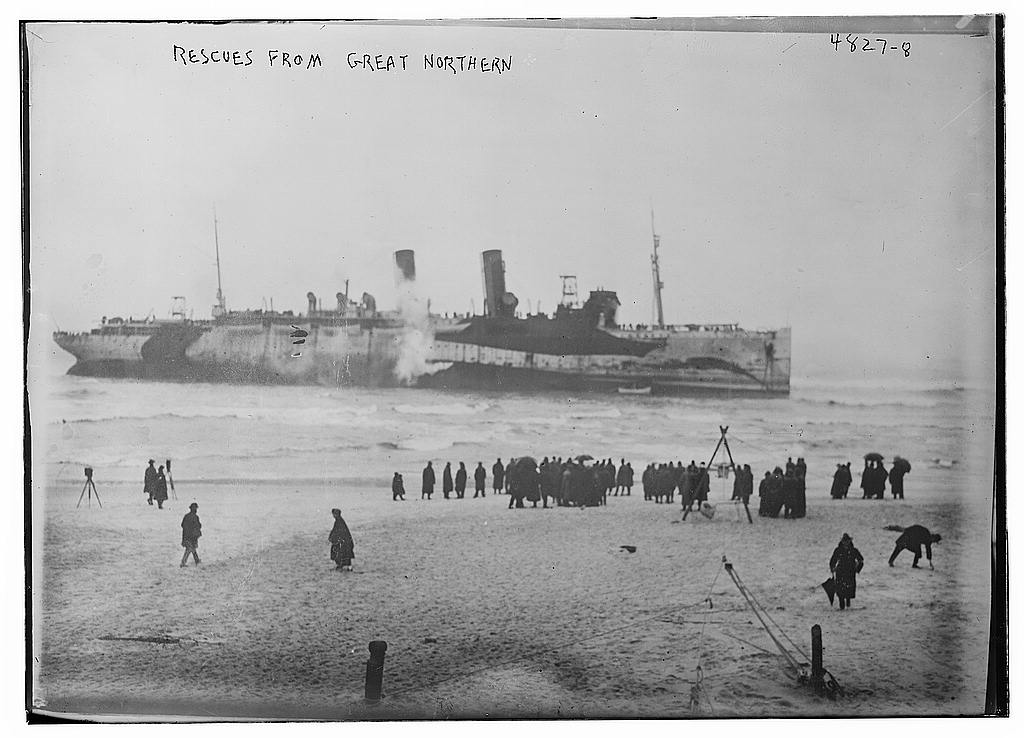 Rescues from GREAT NORTHERN (LOC)