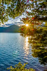 lake santeetlah scenery in great smoky mountains by DigiDreamGrafix.com