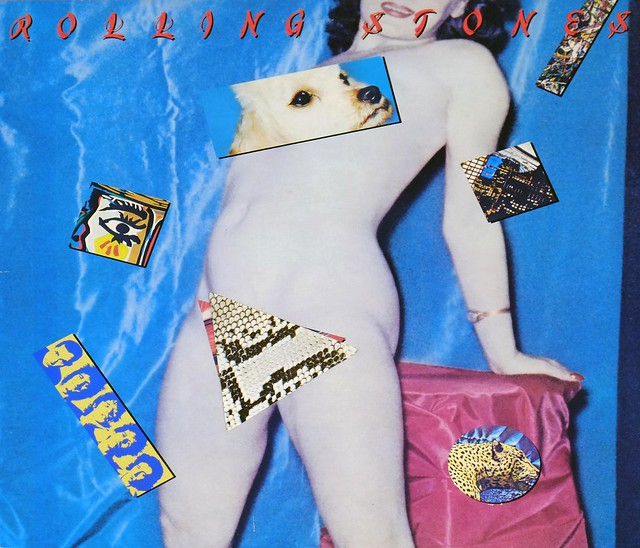 """ROLLING STONES Undercover Dog Cover (Usa) Sexy 12"""" Lp Vinyl"""