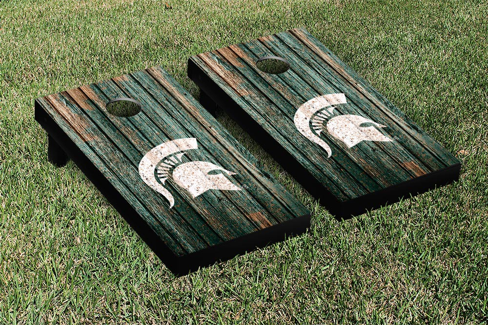 Michigan State Spartans Weathered Version