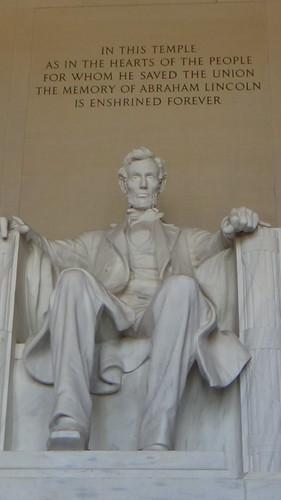 Washington DC Lincoln Memorial Jul 15 3