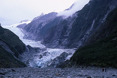 Hiking to the Franz Josef Glacier, South Island, New Zealand