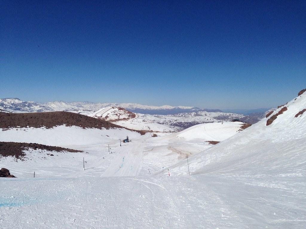 Piuquenes ski trail