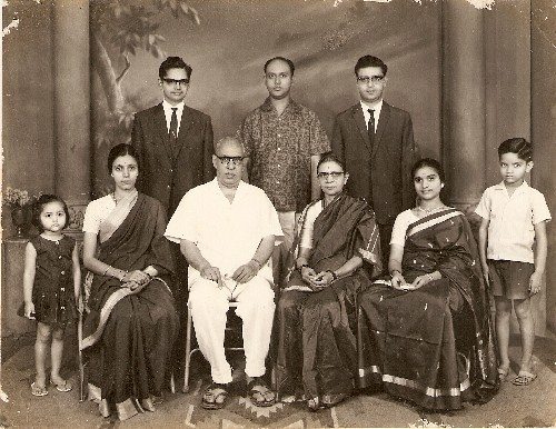 Journalist & Writer Meera Rao with her in-laws